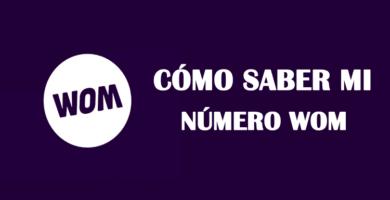 cual es mi número wom chile