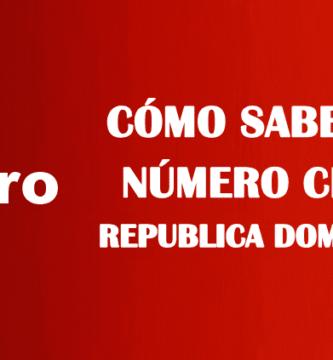 Cómo saber mi número Claro República Dominicana sin saldo