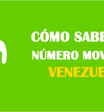 Cómo saber mi número movistar venezuela