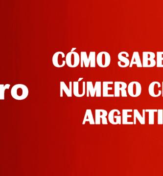 Cómo saber mi número claro argentina sin saldo gratis