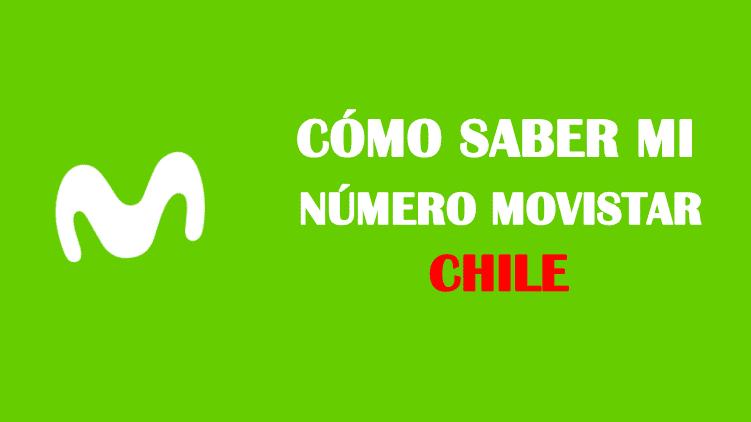 Cómo saber mi número movistar chile sin saldo