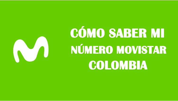Cómo saber mi número movistar colombia sin saldo