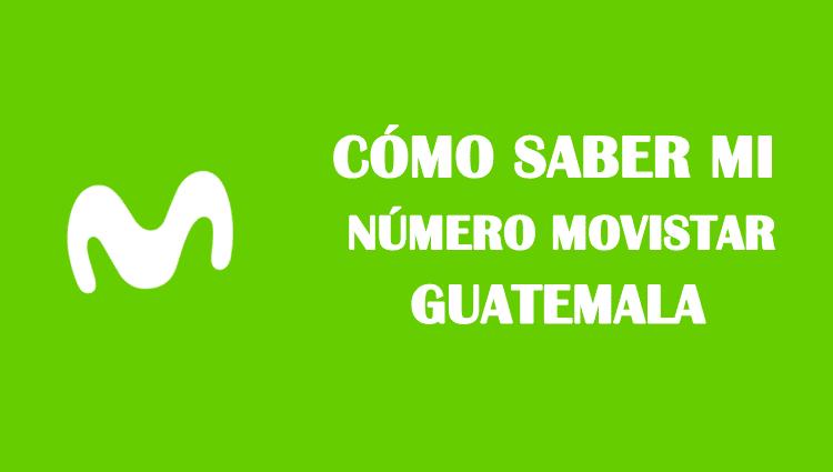Cómo saber mi número movistar Guatemala sin saldo