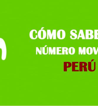 Cómo saber mi número movistar perú sin saldo
