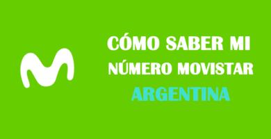 Cómo saber mi número movistar argentina