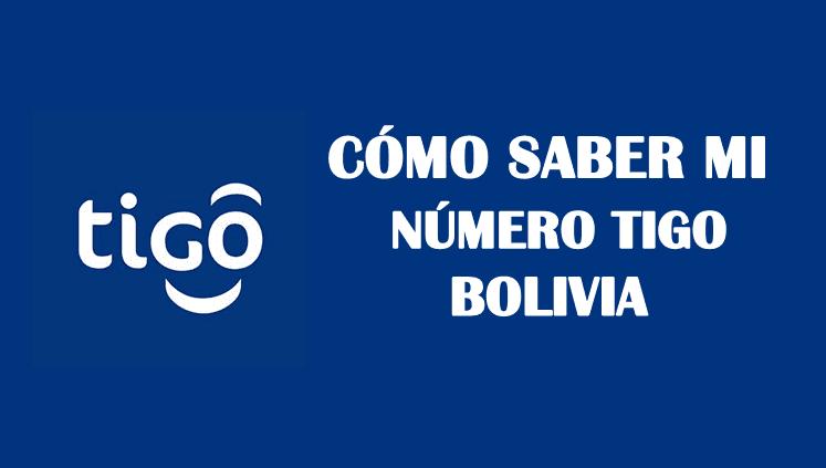 Cómo saber mi número tigo bolivia sin saldo