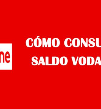 Cómo consultar saldo Vodafone prepago gratis