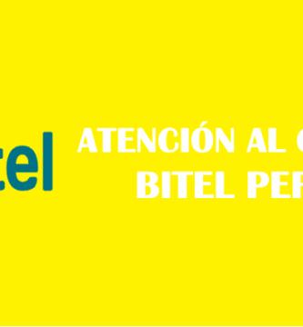 número de atención al cliente Bitel Perú